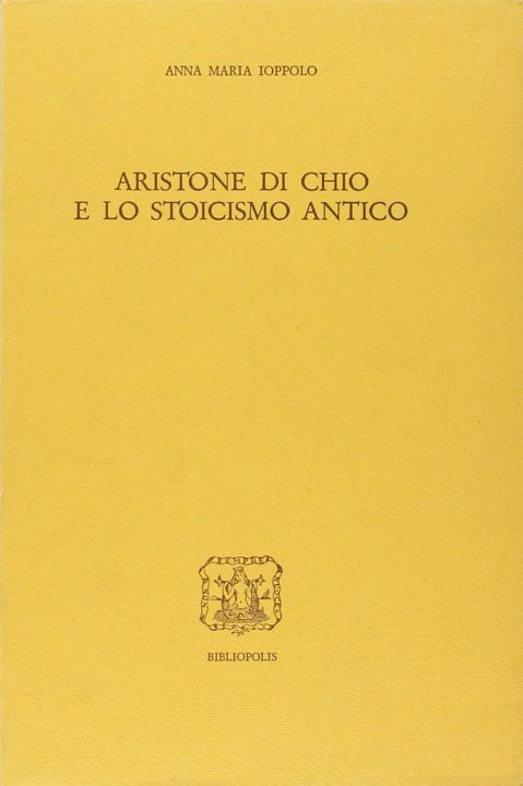 Aristone di Chio e lo stoicismo antico