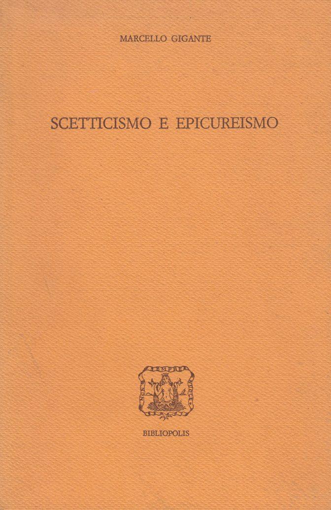 Scetticismo e Epicureismo