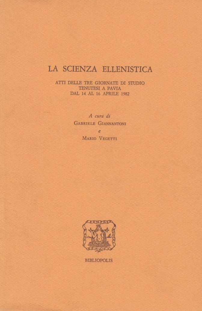 La scienza ellenistica