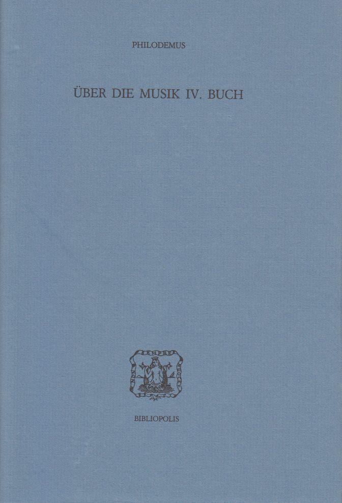 Über die Musik IV Buch