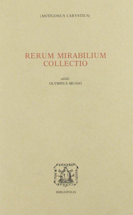 Rerum mirabilium collectio