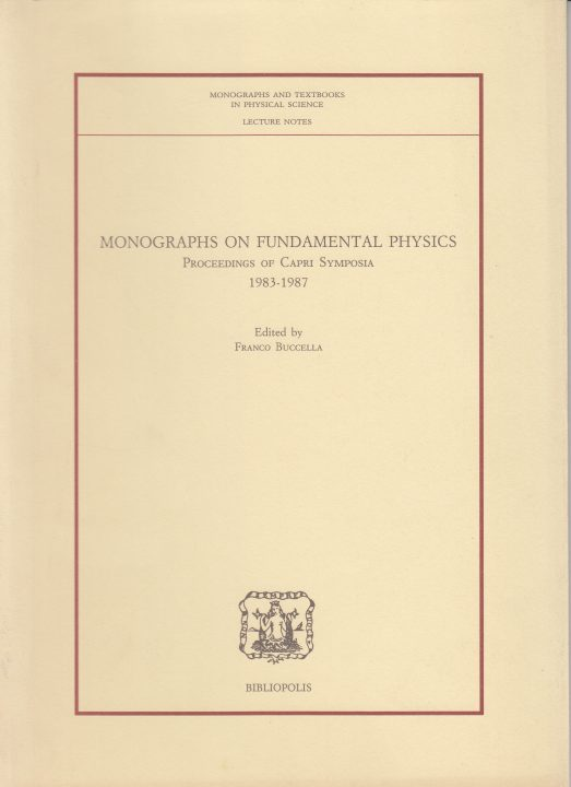 Monographs on Fundamental Physics