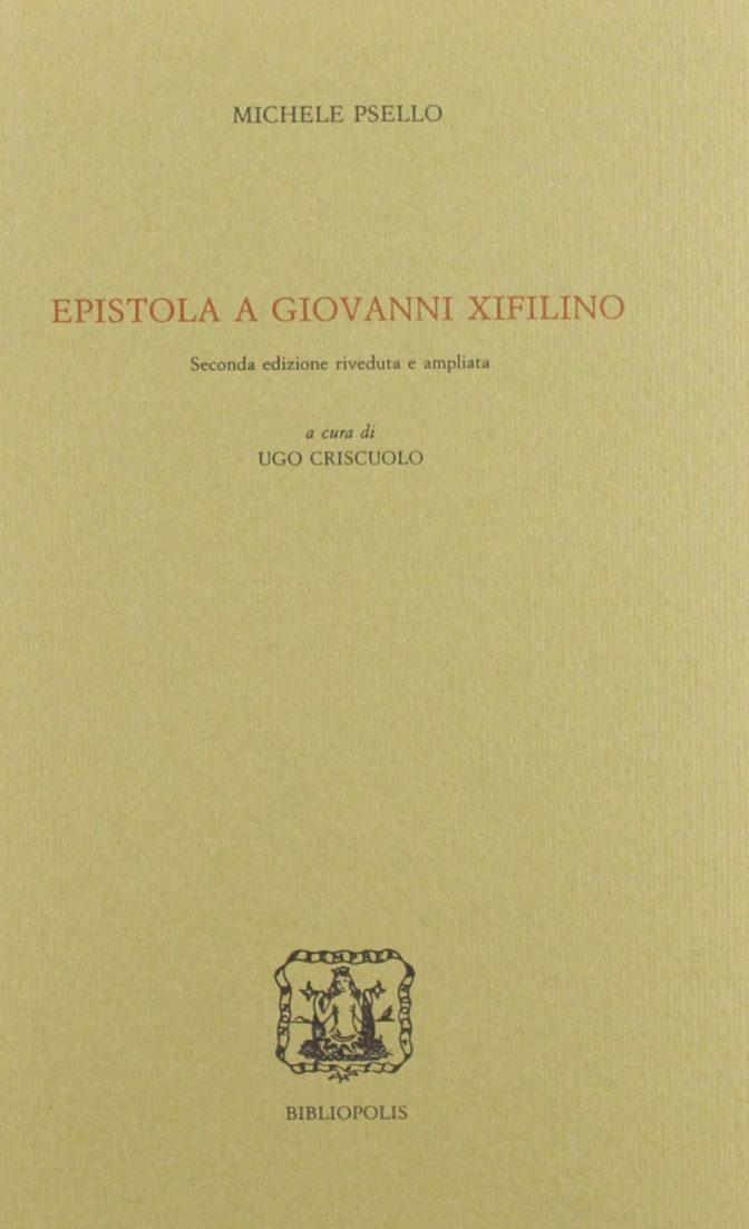 Epistola a Giovanni Xifilino