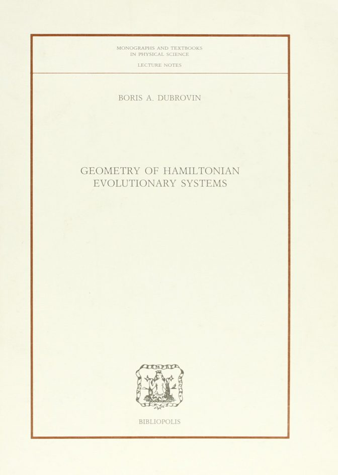 Geometry of Hamiltonian evolutionary Systems