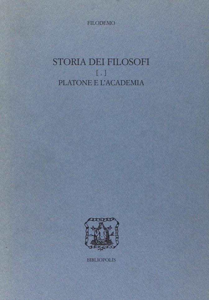 storia dei filosofi