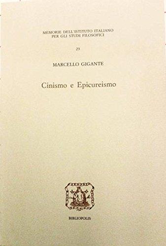 Cinismo e Epicureismo