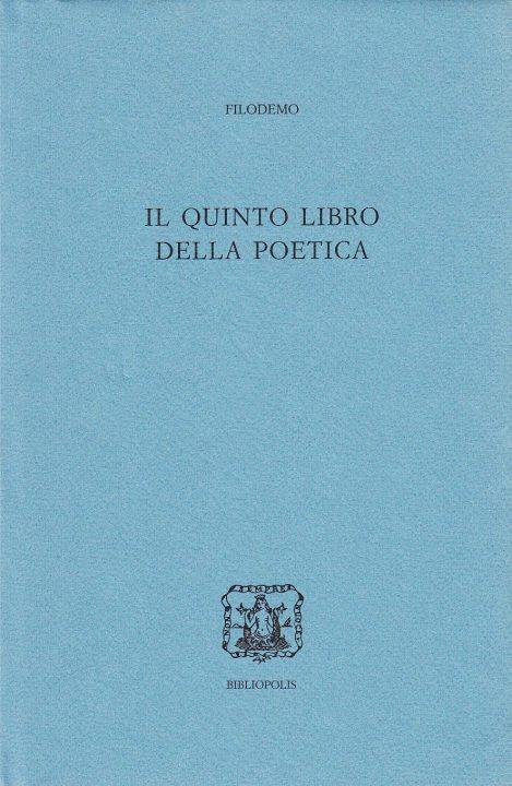 Il quinto libro della poetica