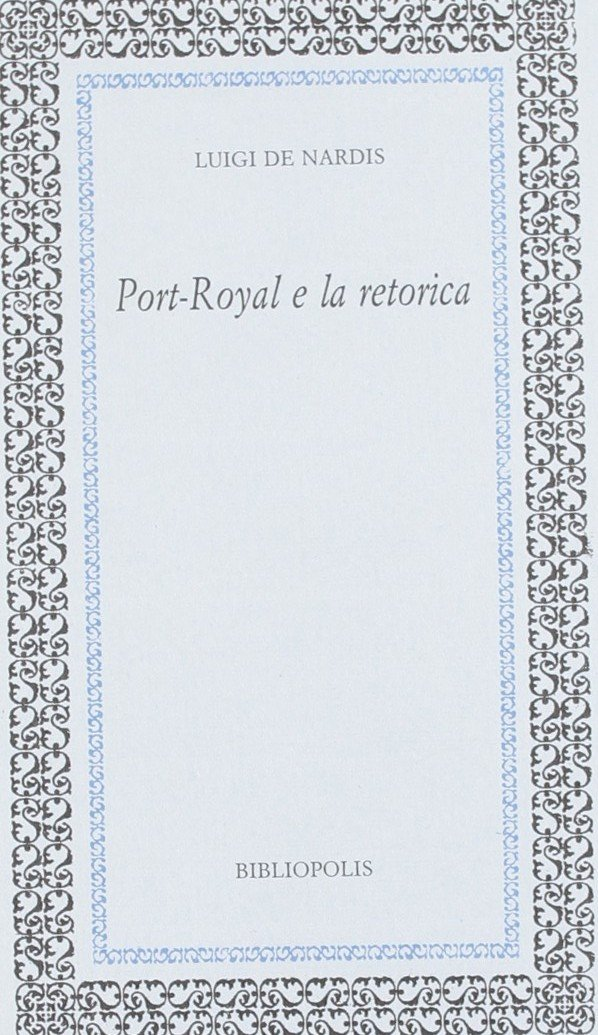 Port-Royal e la retorica
