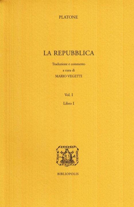 La repubblica. Libro 1º