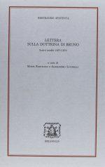 Lettera sulla dottrina di Bruno