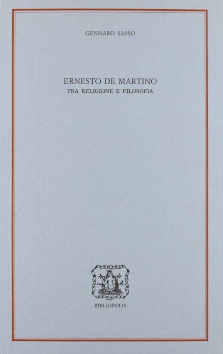Ernesto De Martino, fra religione e filosofia