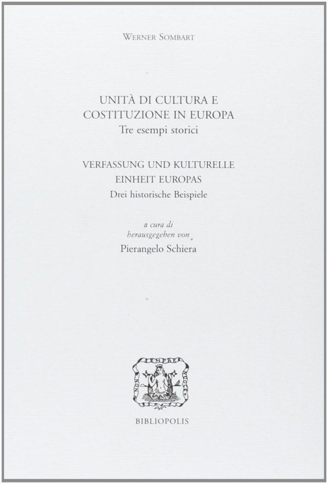 Unità di cultura e costituzione in Europa