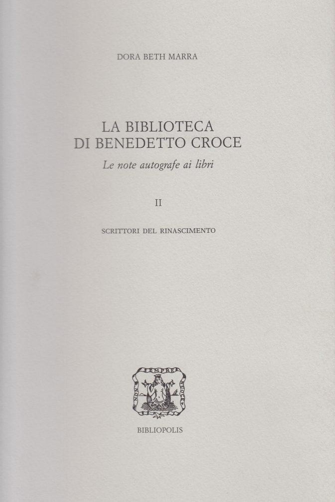 biblioteca croce II