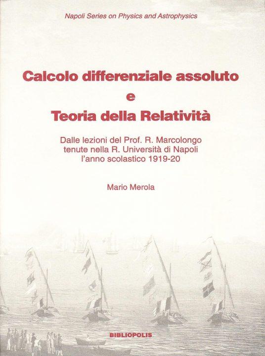 Calcolo differenziale assoluto e teoria della relatività