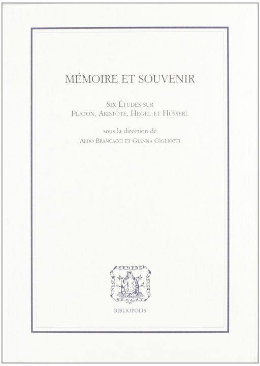 Mémoire et souvenir