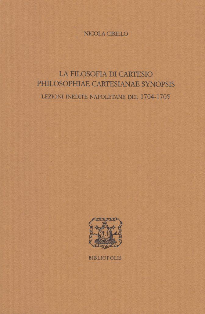 filosofia di cartesio
