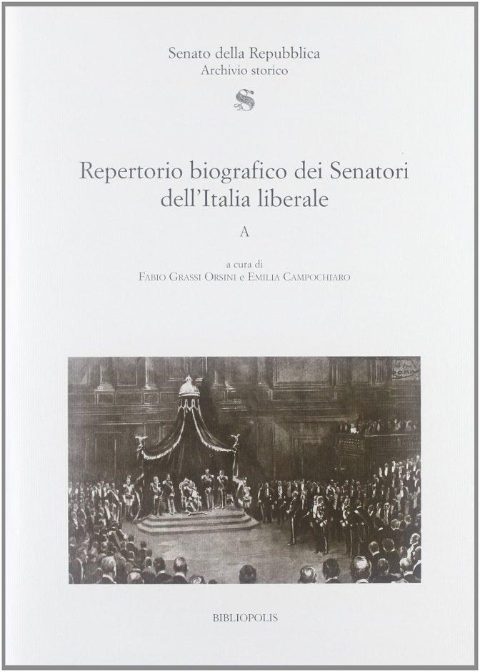 Repertorio biografico dei Senatori dell'Italia liberale