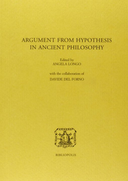 Argument from Hypothesis in ancient Philosophy
