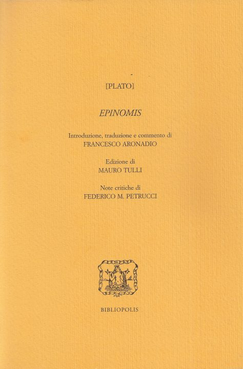 [Plato] Epinomis