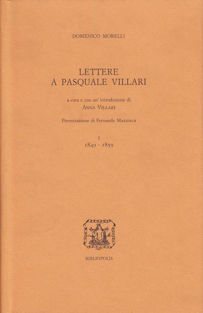 Lettere a Pasquale Villari