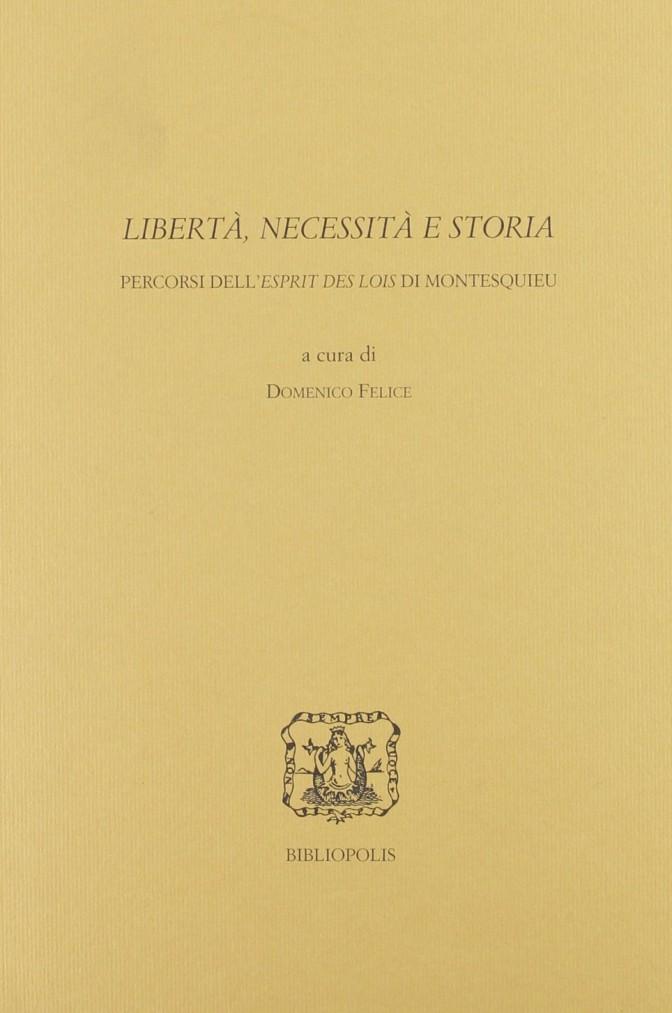 Libertà, necessità e storia