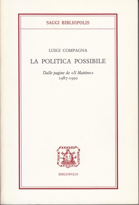 copertina la politica possibile