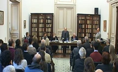 Registrazione del seminario sull'Estetica di Benedetto Croce – 7 dicembre 2015 (Radio Radicale)