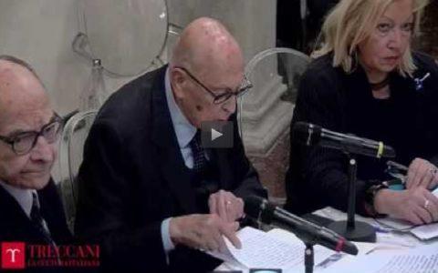 """Registrazione video della presentazione di """"Etica e Politca"""" (Roma, 29/11/2016)"""