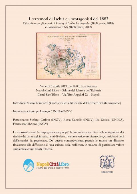 Dibattito I terremoti a Ischia, Napoli Città Libro (5/04/19)