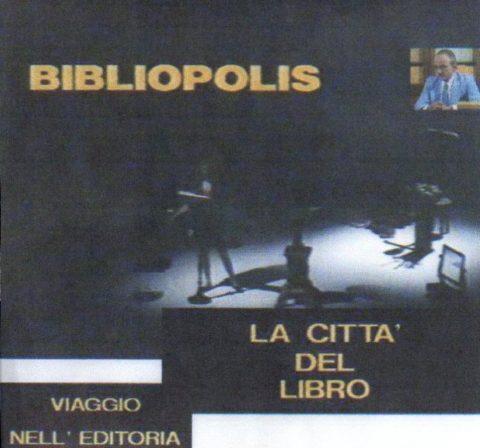 Intervista a Francesco del Franco (02 agosto 1943 –  27 marzo 2015)- La città del libro. Viaggio nell'editoria: Bibliopolis. Un programma di Mario Mariani. RAI (1989)