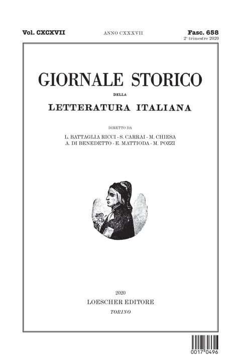 Recensione a F. Carlesi, Parole mortali (Bibliopolis, 2019), di M. Pozzi (Giornale storico della letteratura italiana, 2° trimestre 2020)
