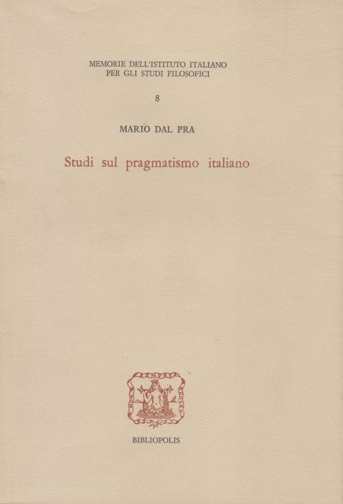 Studi sul pragmatismo italiano