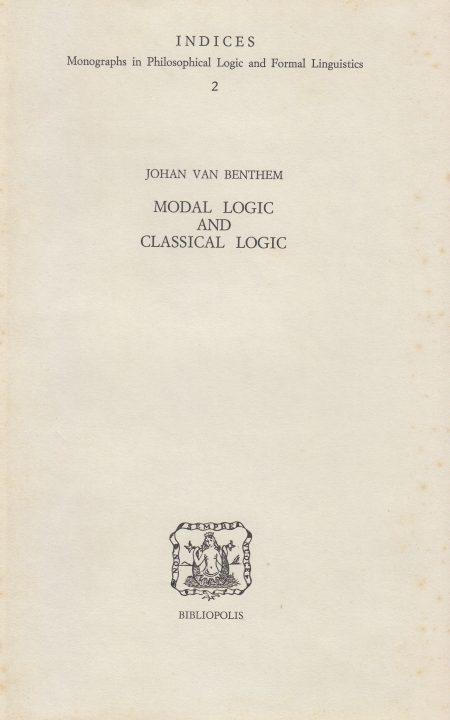 modal logic and classical logic