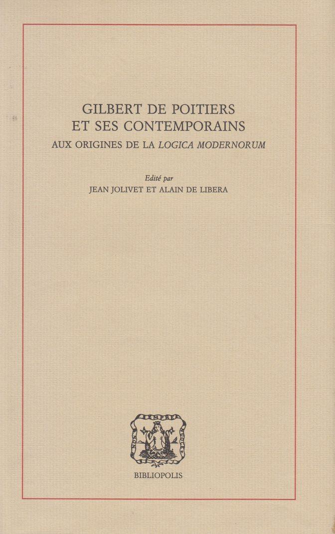 Gilbert de Poitiers et ses contemporains