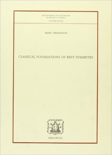 Classical Foundations of BRST Symmetry
