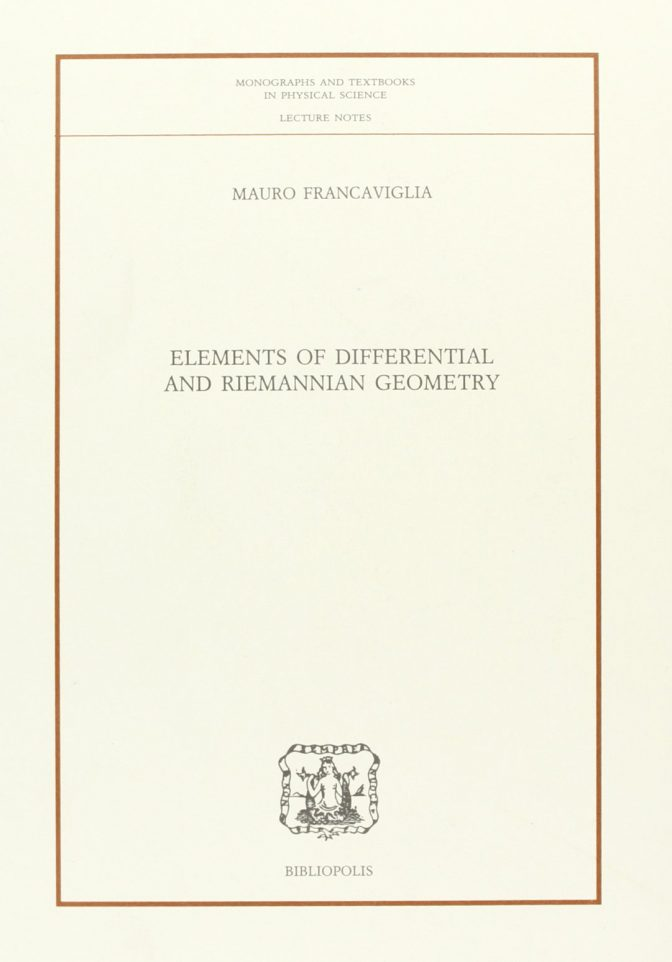 Elements of Differential and Riemannian Geometry