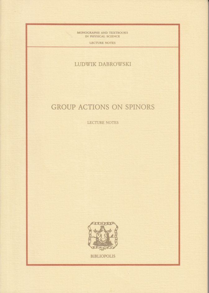 Group Actions on Spinors