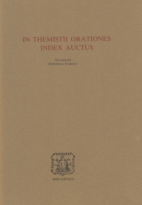 In Themistii orationes index auctus