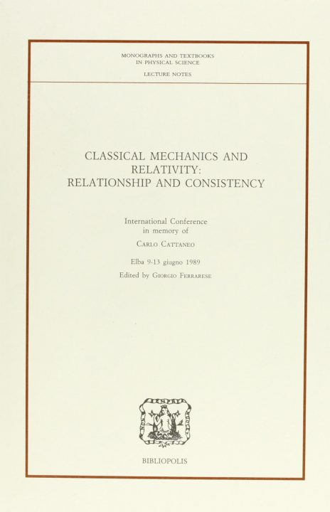 Classical Mechanics and Relativity- relationship and consistency