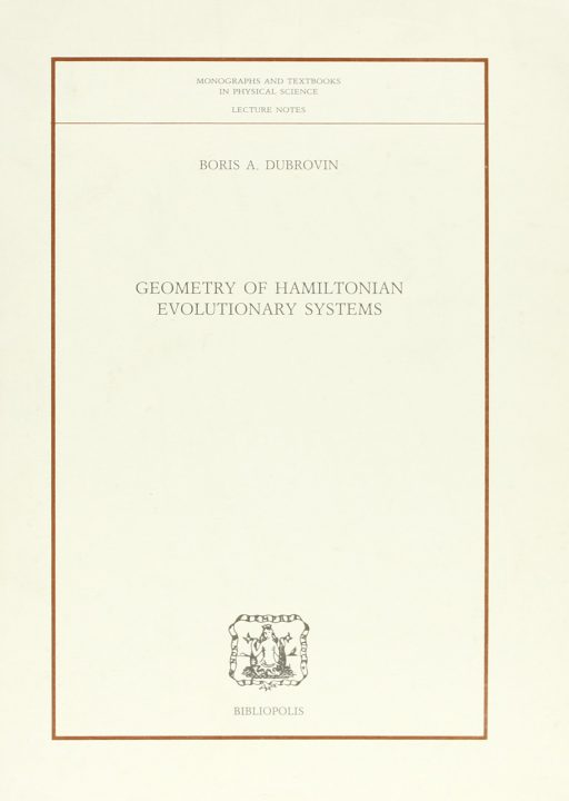 Geometry of Hamiltonian evolutionary Systems