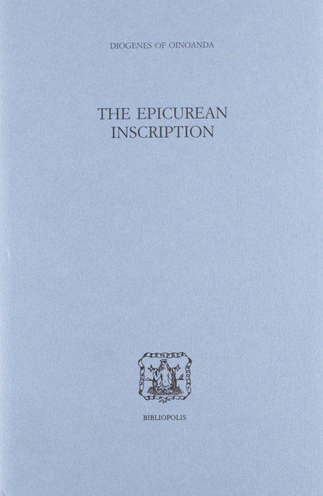 The Epicurean Inscription