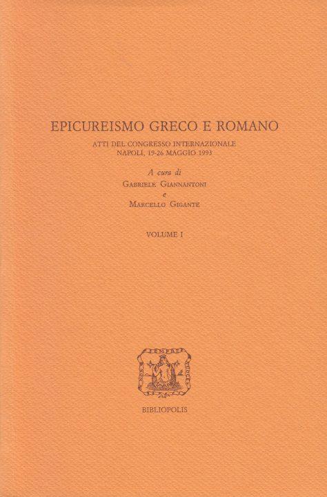 Epicureismo greco e romano