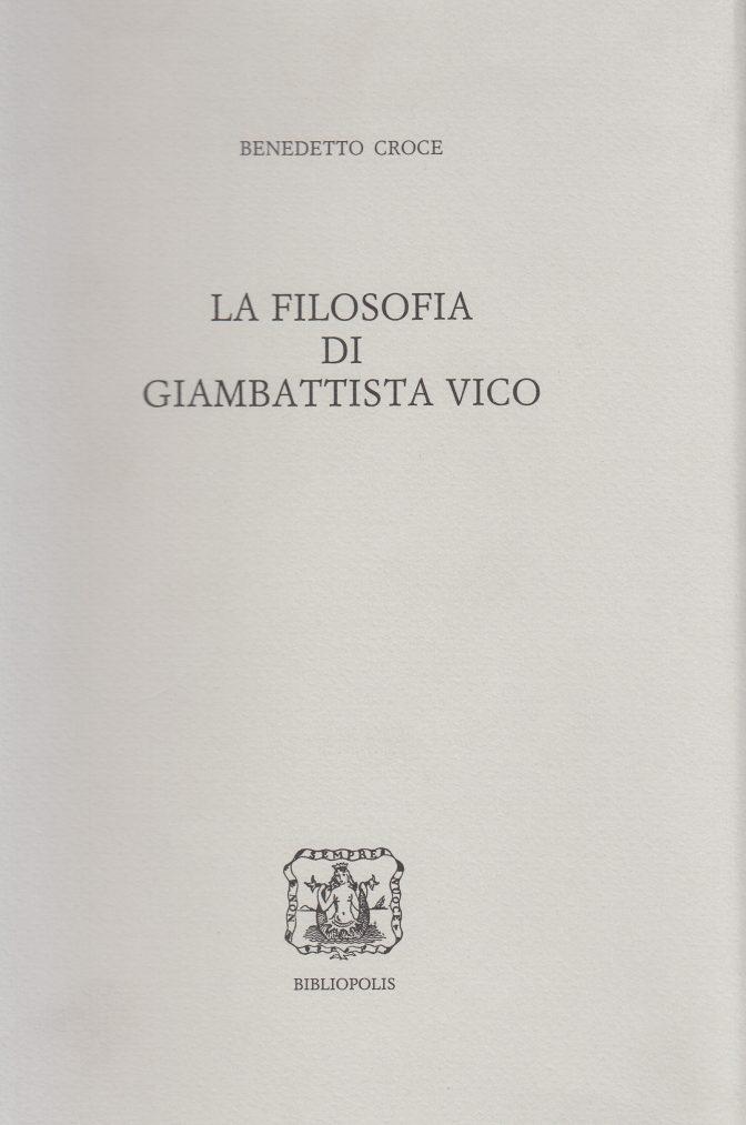 La filosofia di giambattista vico