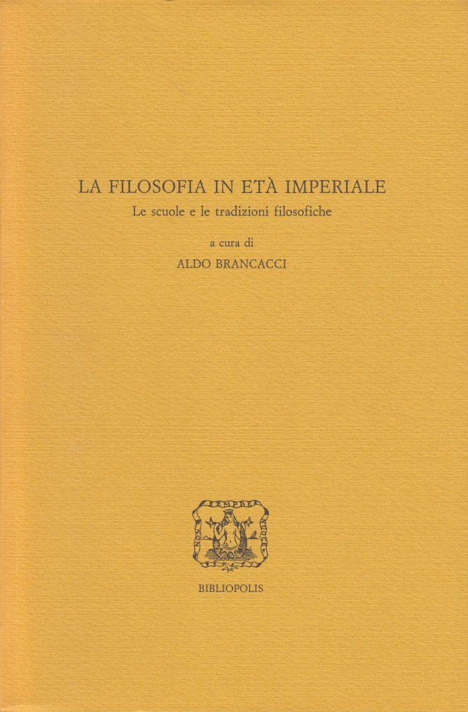 La filosofia in età imperiale