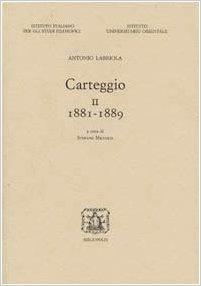Carteggio II