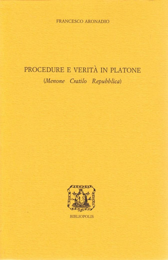 Segnaposto Procedure e verità in Platone