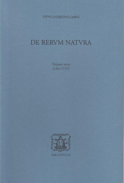 De rerum natura III