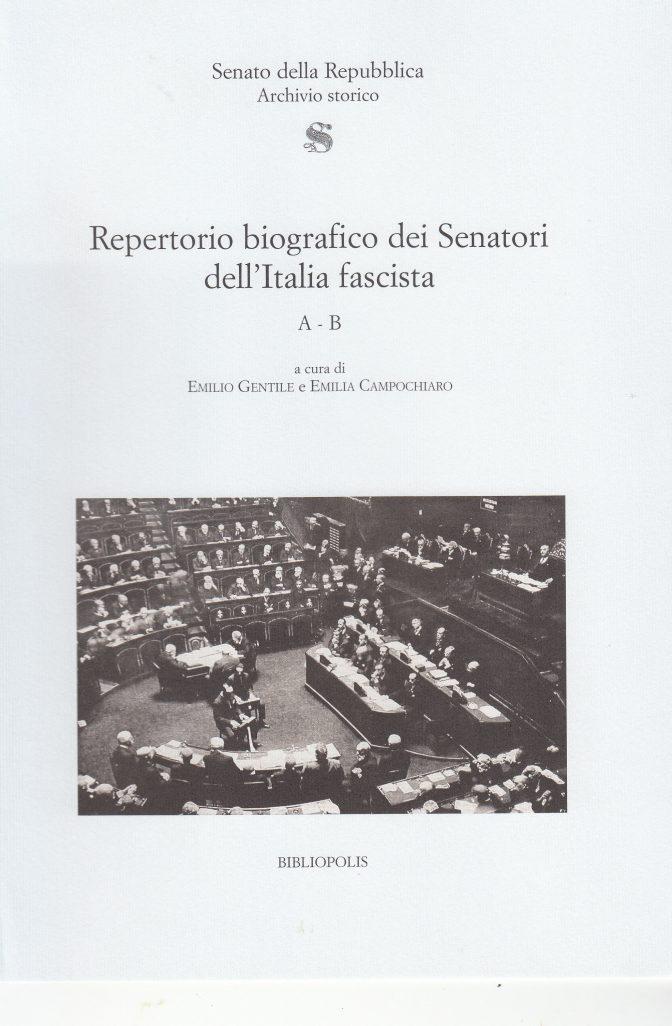 Repertorio biografico dei Senatori dell'Italia fascista