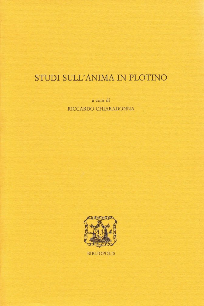 Studi sull'anima in Plotino