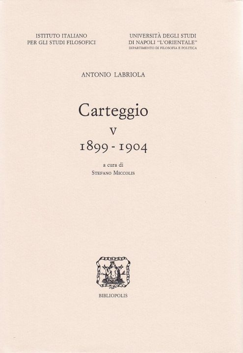 Carteggio V